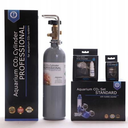 ZESTAW CO2 Aquario BLUE Standard Z BUTLĄ 2L (1)