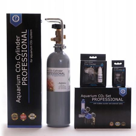 ZESTAW CO2 Aquario BLUE Professional Z BUTLĄ 2L (1)